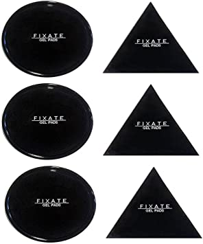 Metal can Stick to Glass whiteboards Mirrors Kitchen Cabinets and Tile Car GPS 10 PACK Fixate GEL PADS Dlife Sticky Pad Anti-Slip GEL