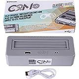 Jo332Bertram Classic 2 Magic Plays Adaptateur pour Snes Mini, NES Mini, Shonen Jump Mini - Via USB Hautement Compatible avec Chaque Région