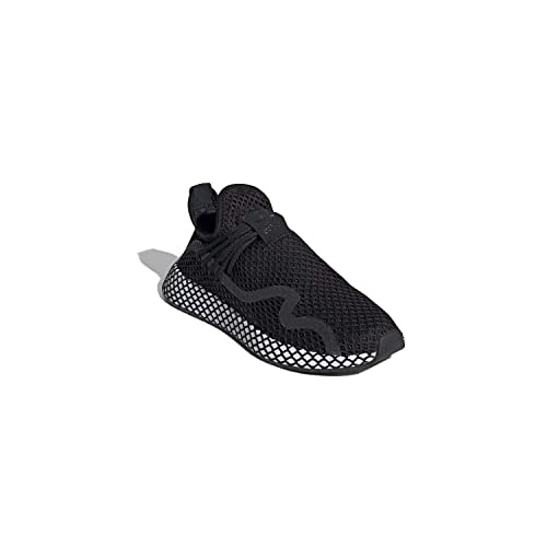 catch best deals on buy good adidas Mens Men's Deerupt Black/White Bd7879: Amazon.co.uk ...