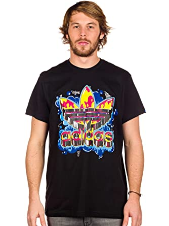 adidas originals old school t shirt
