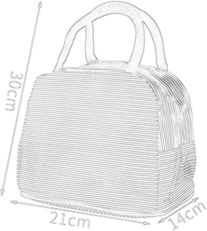 GYZ Pranzo Banda Impermeabile Isolamento Bag Ispessita Pasto al Sacco Scatola Esterna Portatile di Isolamento Borsa, 3 Colori tra Cui Scegliere Pranzo Tote (Color : A) B