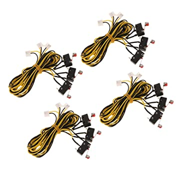 F Fityle Cable Interruptor de Límite de Impresora 3D Accesorio de ...