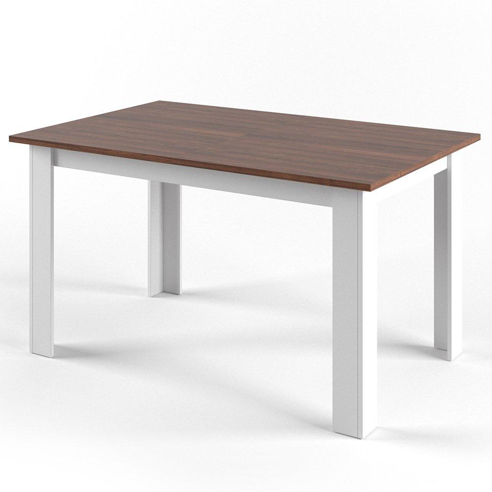CARO-Möbel Esstisch Esszimmertisch Küchentisch Tijuana in Nussbaum ...