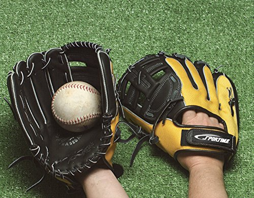 - Sportime Yeller Baseball Glove - Adult 13 inch - For Left Handed Thrower