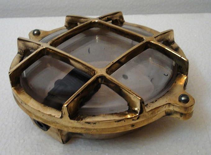 100/% SATISFACTION Maritime // Nautical Marine BRASS DECK Light Little