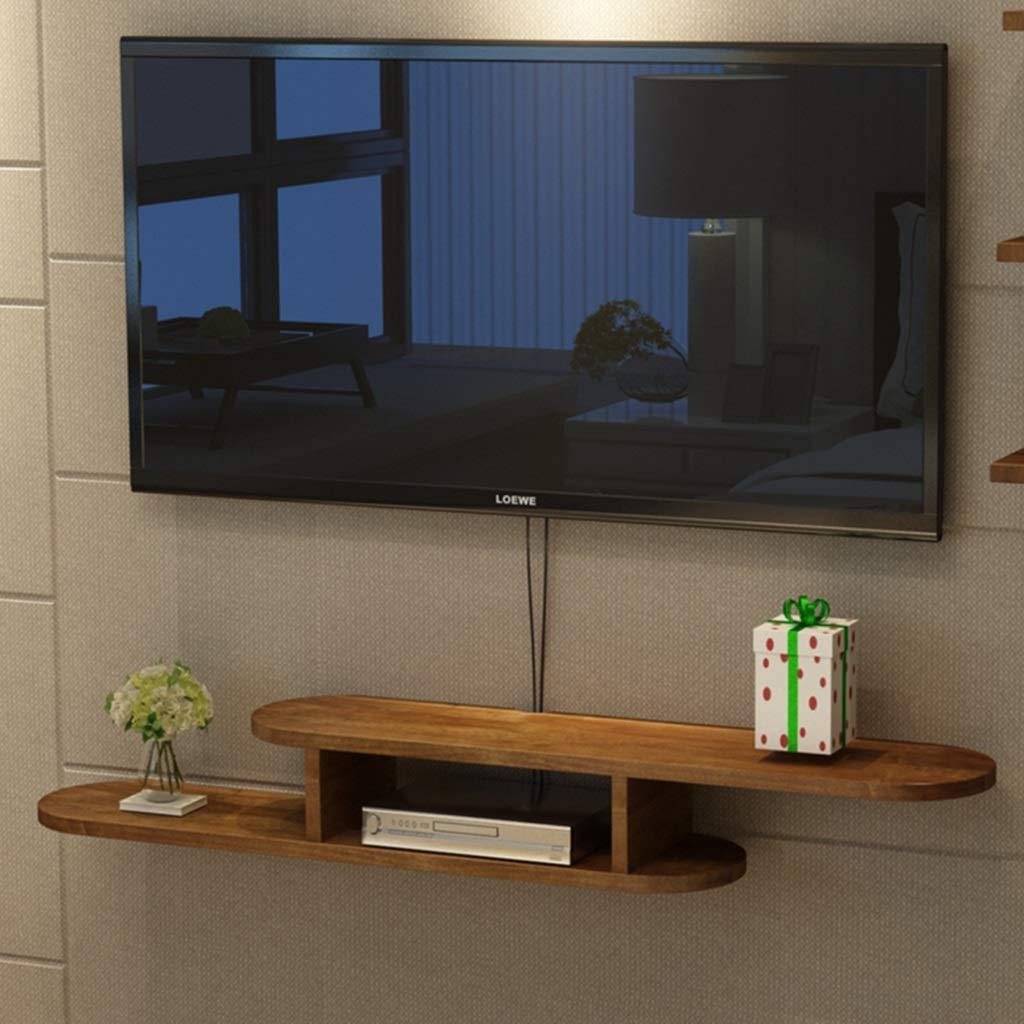 フローティングシェルフ フローティング棚 オーディオ/ビデオコンソール 木製 テレビスタンド メディアコンソール ケーブルボックス用 ルーター リモート DVD プレイヤー ゲーム機 (サイズ さいず : 100cm) 100cm  B07M6Z2NGD