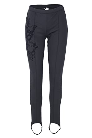 5b9c23471 Desigual Pantalon Legging Femme Abril Noir 18wwpk18 - Taille - S ...