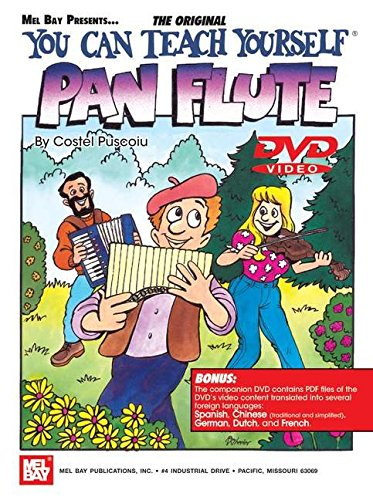 You Can Teach Yourself Pan Flute (Book & DVD) (English, Chinese, German, Dutch and French Edition) pdf