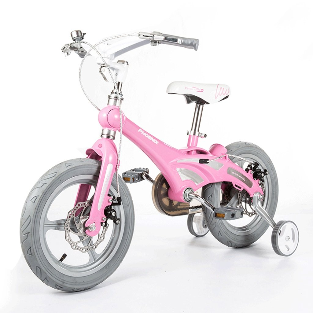 DGF 子供用自転車男性と女性の赤ちゃんの赤ちゃんキャリッジ12/14/16インチ自転車マウンテンバイク子供自転車 (色 : ピンク ぴんく, サイズ さいず : 12インチ) B07F1NM7HP 12インチ|ピンク ぴんく ピンク ぴんく 12インチ