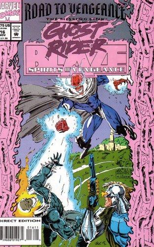 COMIC 1991-9.4 GHOST RIDER    # 16