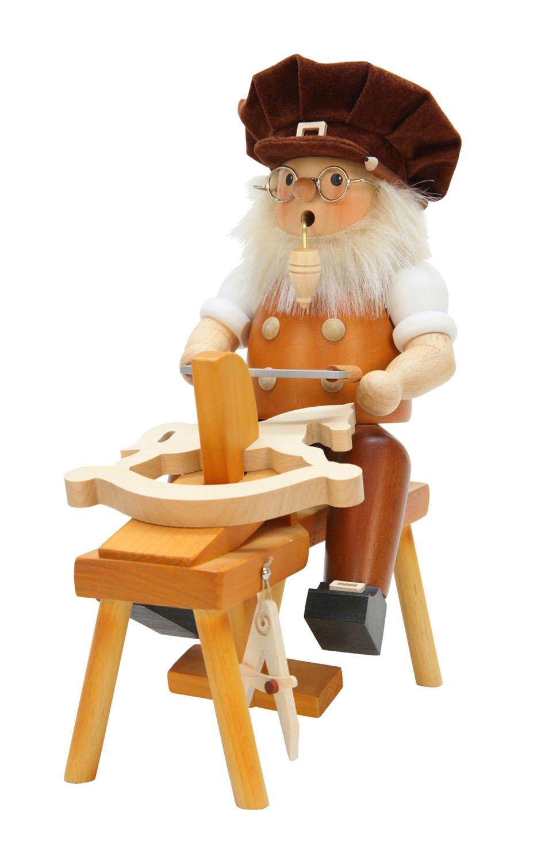 Alexander Taron Christian Ulbricht Decorative Wood Carver Incense Burner by Alexander Taron