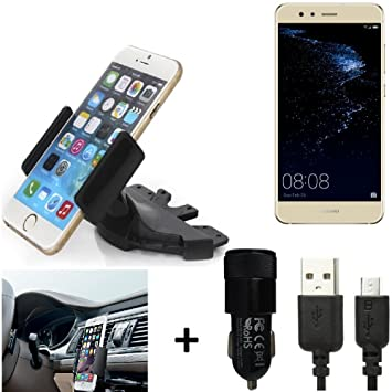 K-S-Trade® Top Set para Huawei P10 Lite Dual-SIM Soporte Ranura de ...
