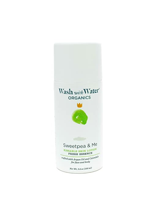 Wash with Water All Natural Skin Care for Baby