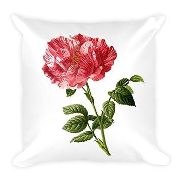 Amazon.com: Legacy Ventures - Cojín de dibujo floral con ...