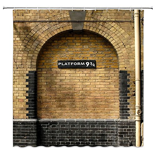 Harry Potter Bathroom Shower Curtain Accessories