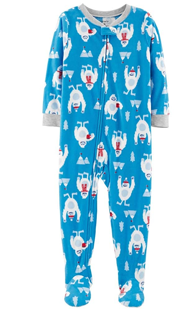 Abominable Snowman Microfleece Pajamas