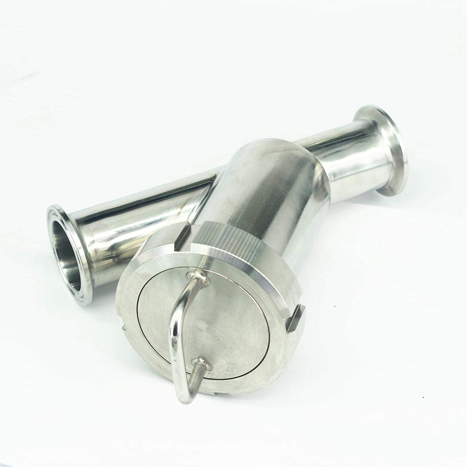 Fit 38mm Pipe OD 1.5 Tri Clamp SUS304 Sanitary Y Type Strainer Filter Home Brew