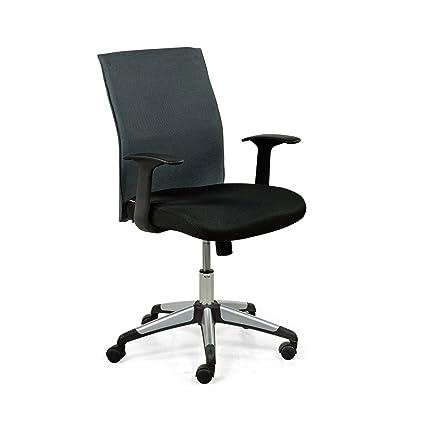 Royaloak Vegas Office Chair (Grey & Black)
