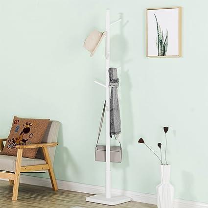 ZWD Creativo perchero, de madera de pie perchero vestidor ...
