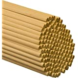 Dowel Rods Wood Sticks Wooden Dowel Rods 3/8 x 36 Inch - 500 Dowel Sticks Unfinished Hardwood Sticks -for Crafts and DIY'ers by Woodpeckers