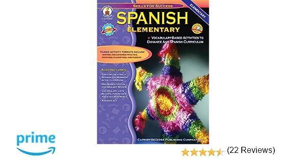 Spanish, Grades K - 5: Elementary (Skills for Success): Cynthia ...