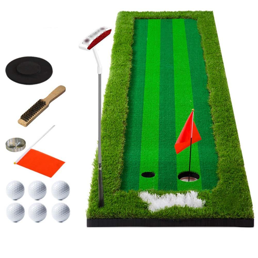 練習パターマットセットパター 女性男性ゴルフパッティンググリーンシステムプロの練習グリーンロング挑戦的なパター屋内/屋外簡単にロールアップして運ぶ (色 : 0.75X3m, サイズ : B) B07PWNZ33H 0.75X3m B