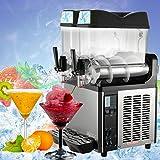 LOVSHARE 12Lx2 Tanks Frozen Drink Machine 2300W Commercial Smoothie Maker Cooling Slush Juice Making Machine Commercial Slushy Maker for Both Slush and Juice(12Lx2 tanks)