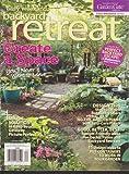 nice simple patio design ideas Easy Weekend Backyard Retreat Magazine Spring 2013