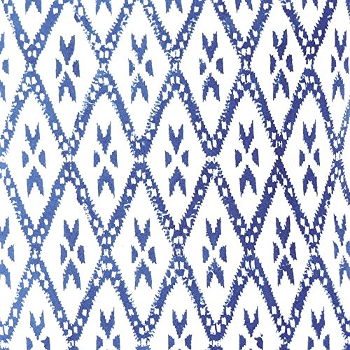 Eyes of India - 20'' Indigo Blue Decorative Pillow Sofa Throw Cushion Cover Couch Colorful Boho Bohemian IndianCover Only