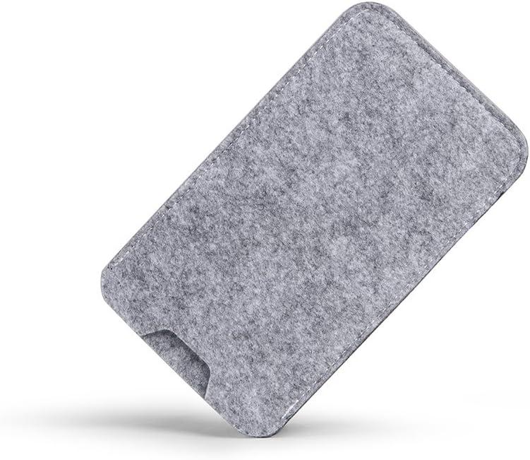 K-S-Trade Filz Schutz H/ülle F/ür Nokia 7.2 Schutzh/ülle Filztasche Filz Tasche Case Sleeve Handyh/ülle Filzh/ülle Grau
