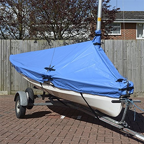 UK Custom Covers BC203BLUE Dinghy Overboom Tailored Waterproof Cover - BLUE