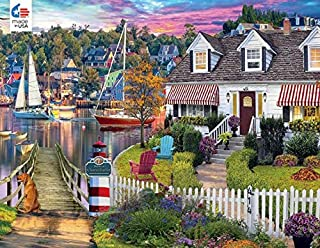 product image for David Maclean Charles Harbor Puzzle - 1000Piece