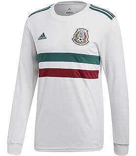 d8d5a7daa Amazon.com   adidas 2018-2019 Mexico Away Football Shirt   Sports ...