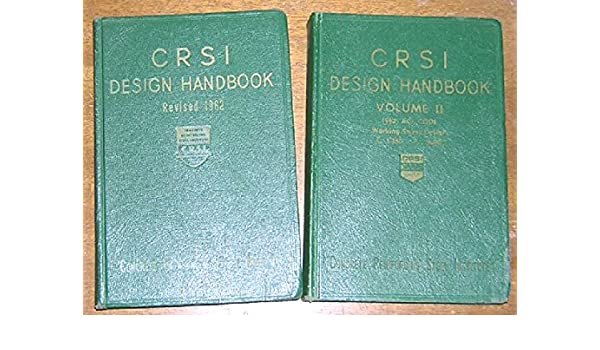 Crsi manual of standard practice 27th edition civil.