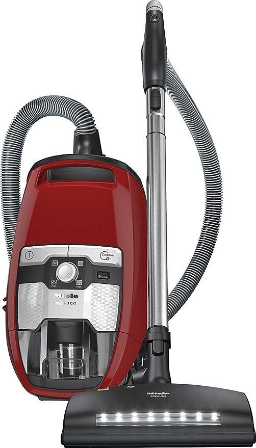 Miele Blizzard CX1 HomeCare aspiradora sin bolsa, color rojo otoño ...