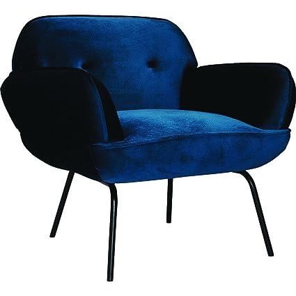 amazon com ion design tromso lounge chair dark blue kitchen dining