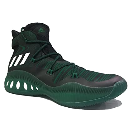 2a73f94b Amazon.com: adidas Crazy Explosive NBA Black/Kel Basketball Shoes 15 ...