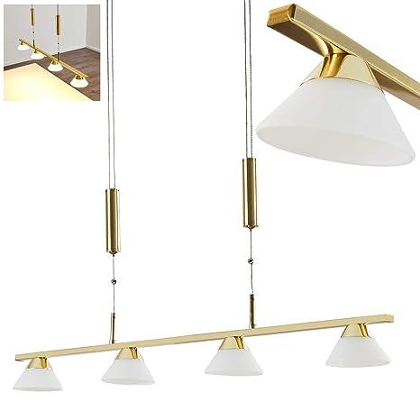 Lámpara colgante naltio de metal latón - - lámpara de techo ...