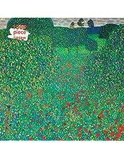 Jigsaw: Gustav Klimt, Poppy Field (1000-piece): 1000-piece Jigsaw Puzzles