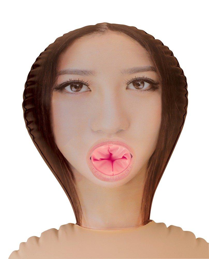 Amor Muñeca – Goma muñeca – Amor Muñeca Muñeca Amor con asiático Impresión de fotografías de cara y negras impresas reaparición. dehnbare y de Vagina ano Apertura Figura de hinchable con. 10c943