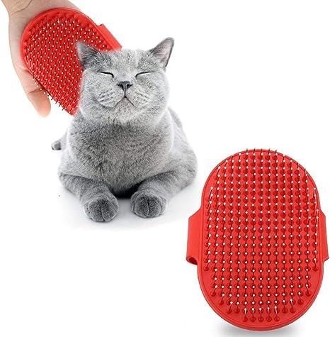 Smandy Cepillo de Silicona para Mascotas Masaje para Mascotas Baño ...