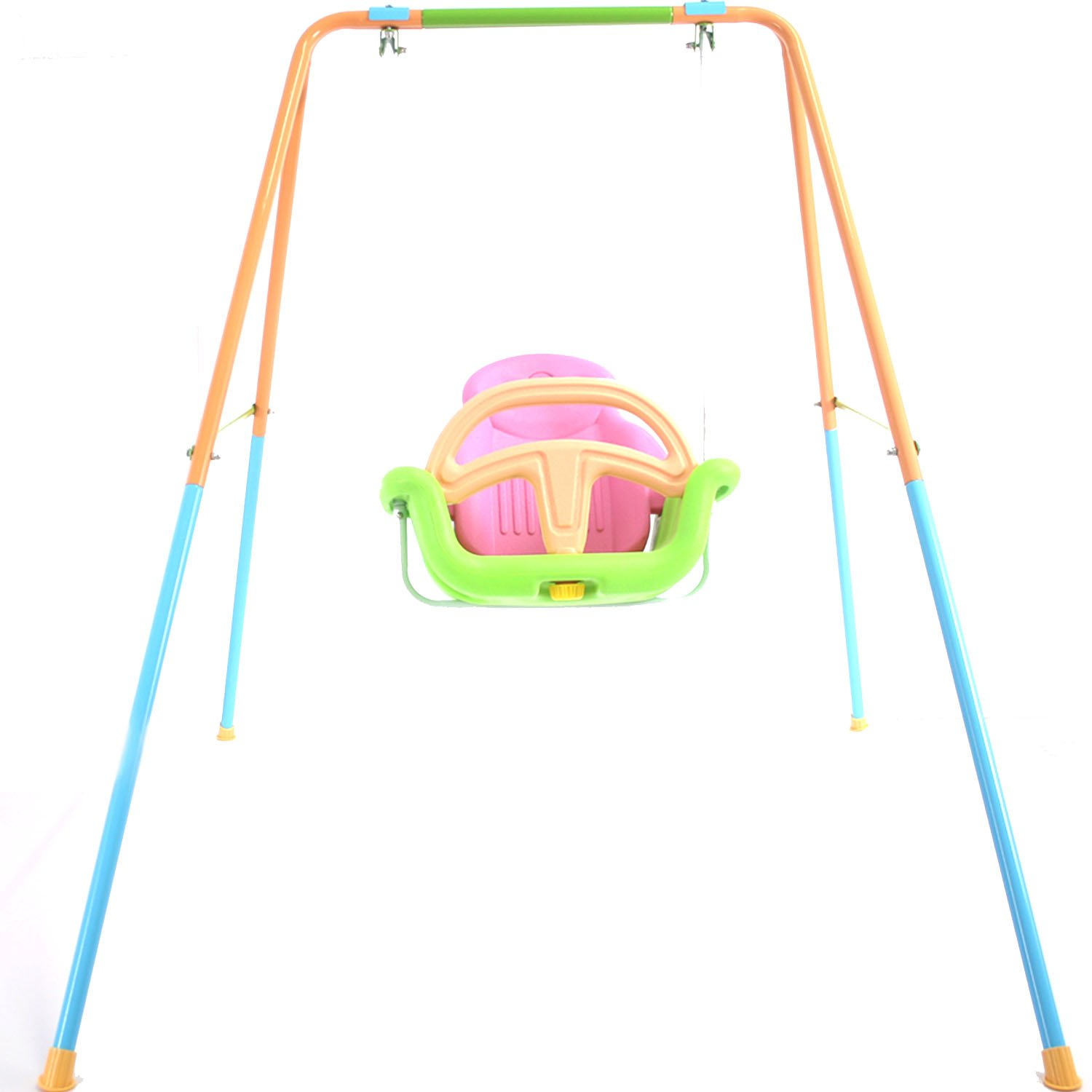 Toddler Baby Teenager Swing Playset for Yard Outdoor Indoor with Adjustable Height by HSTOY