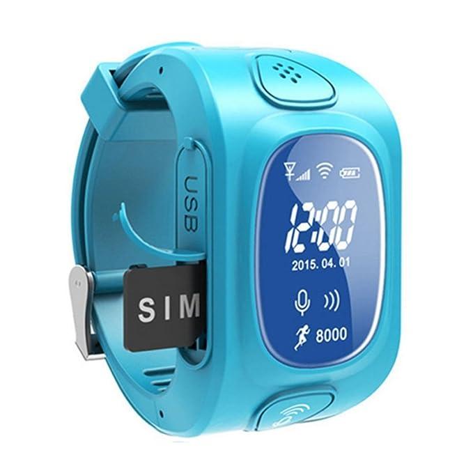 1 opinioni per MagiDeal Smartwatch SOS Chiamata WiFi GPRS Localizzatore Tracker per Bambini-