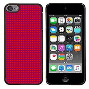 """For Apple iPod Touch 6 6th Touch6 , S-type Textura Pink Dots"""" - Arte & diseño plástico duro Fundas Cover Cubre Hard Case Cover"""