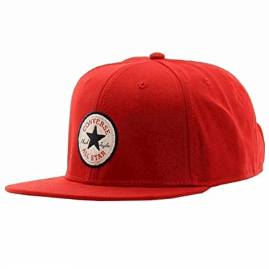 45f0966b1185 Converse Core Snapback Twill Cap in Red  Amazon.co.uk  Clothing
