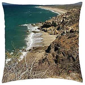 Sea - Throw Pillow Cover Case (18