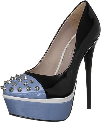 kurt geiger black platform heels