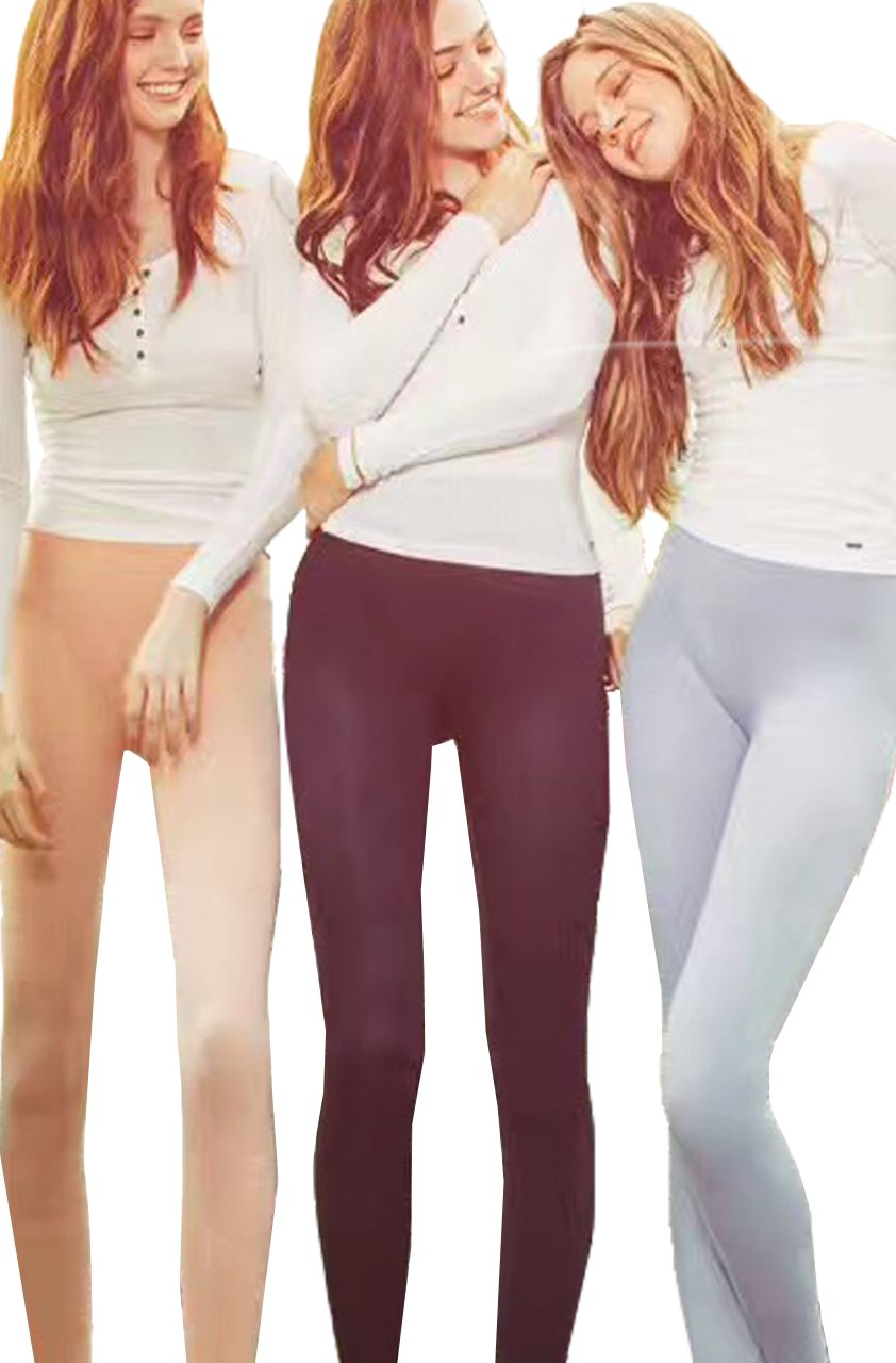 KEEXUENNL Sleeping Lightning Slimming Legging/Fitness/Yoga high waist thigh Slimming pants/Elastic (3 Colors)
