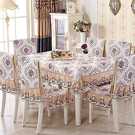 Tessuto Per Sedie Da Giardino.Porcn Set Di Cuscini Per Sedie In Tessuto Per Sedie E Tavoli Set