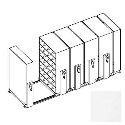 Filing System For Office   Expand Mobile Shelving Units